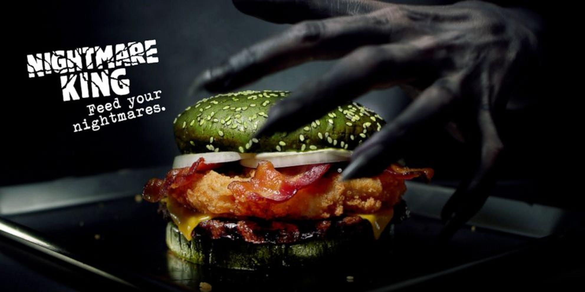 nightmare king burger