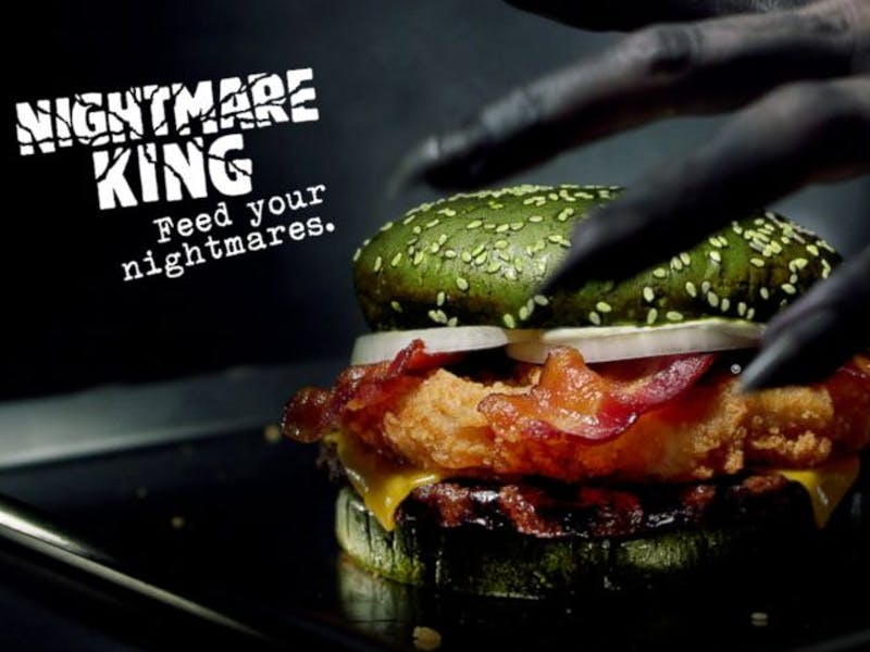 nightmare king burger