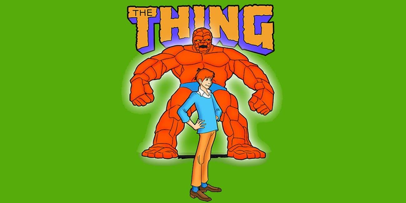 thing cartoon title