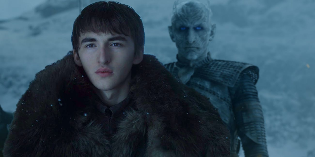 Actor Isaac Hempstead Wright doesn't see the resemblance, so maybe you shouldn't either?