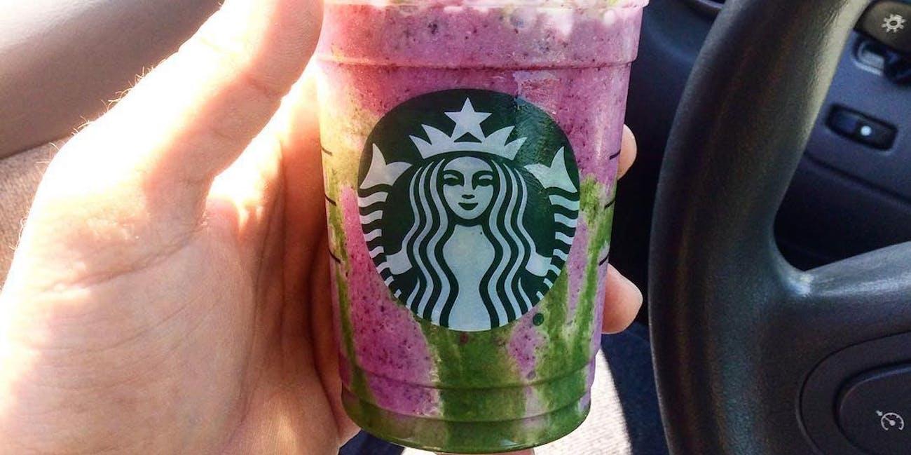 Here S The Starbucks Mermaid Frappuccino Recipe Inverse