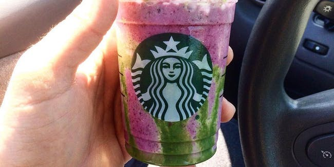 The Mermaid Frappuccino is almost a fusion of the Unicorn and Dragon, oddly enough.