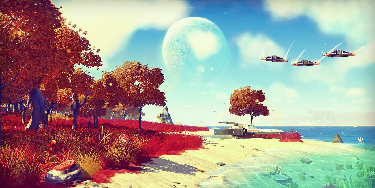no man's sky video game space