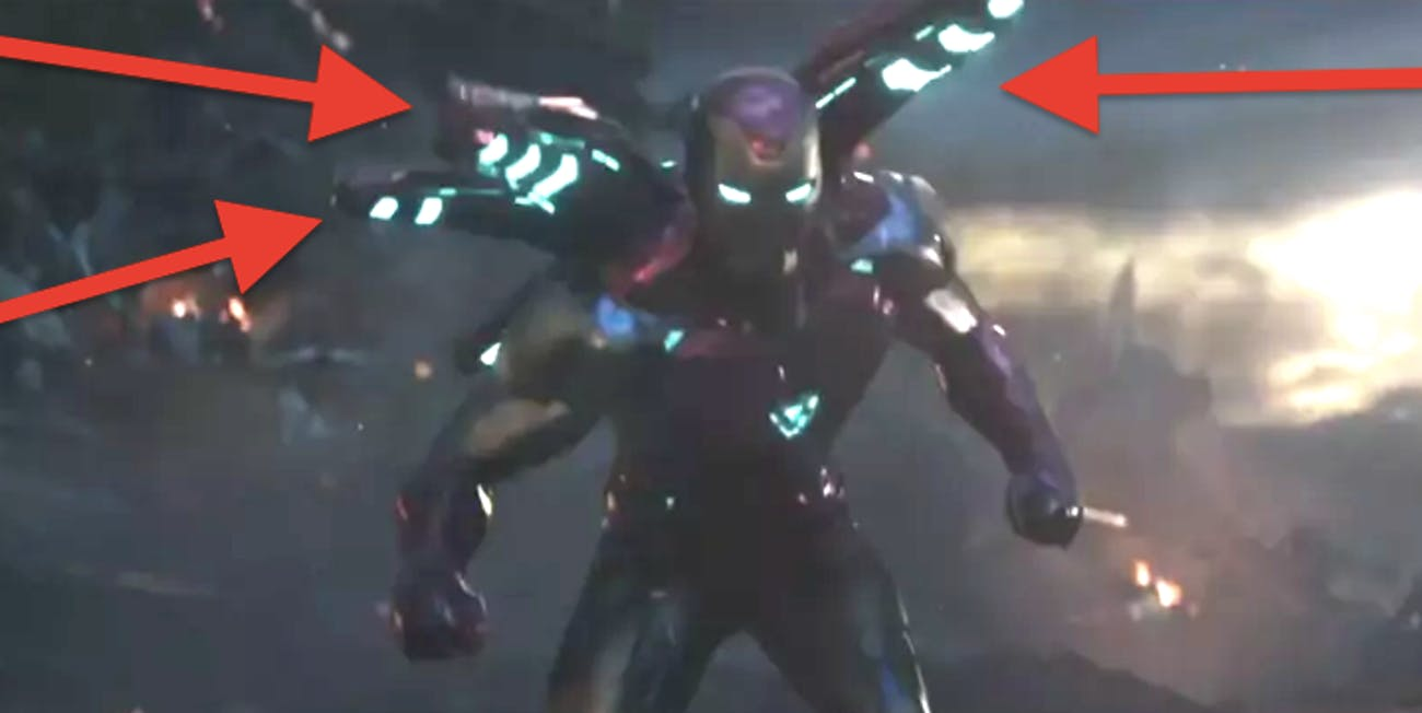Iron Man in the latest 'Avengers: Endgame' TV spot