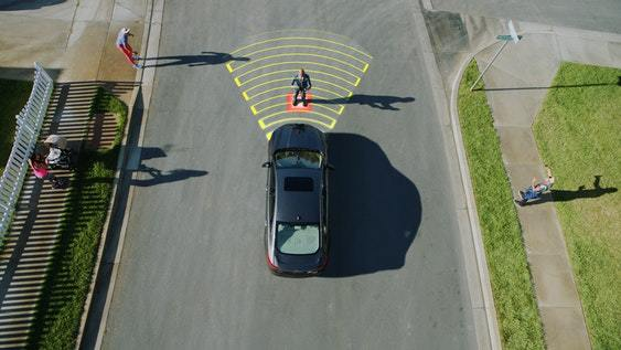 Ford introduces night-time pedestrian detection