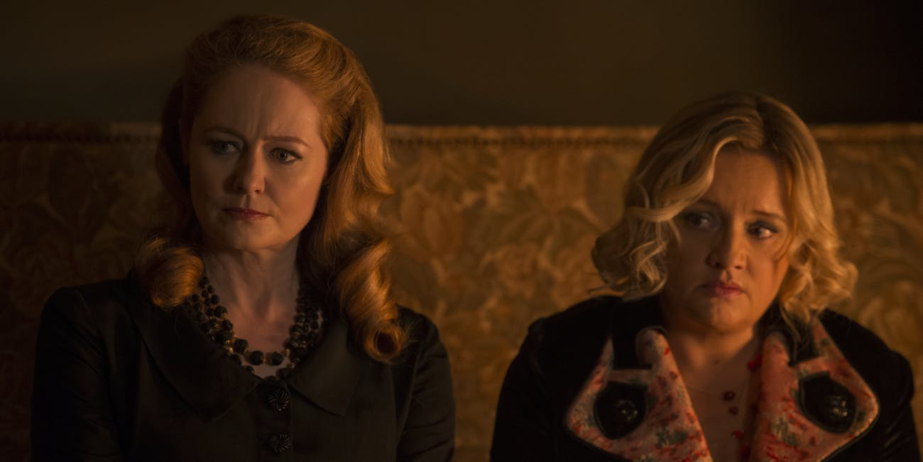 'Chilling Adventures of Sabrina' Zelda and Hilda Spellman