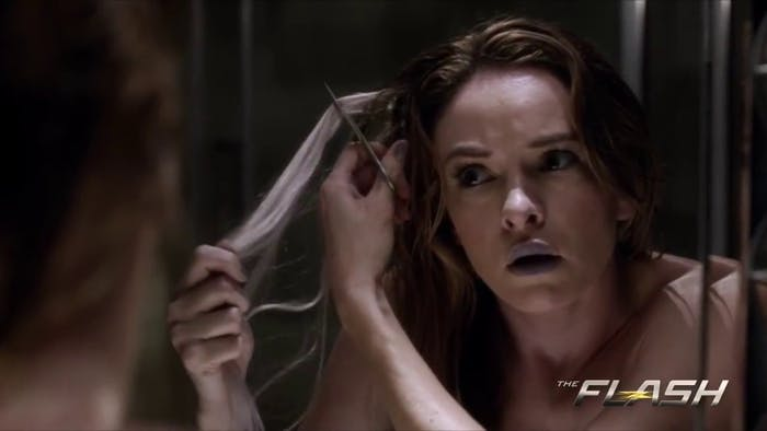 Caitlin Snow becoming Killer Frost.
