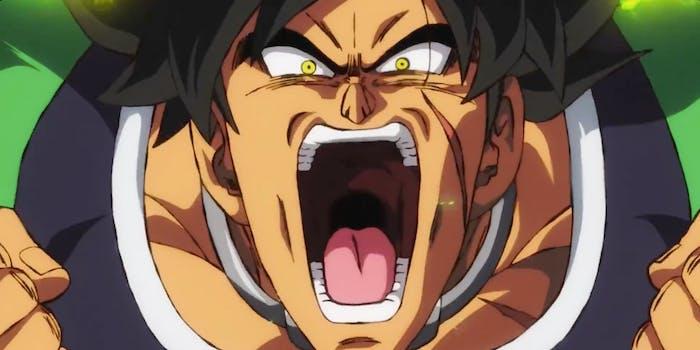 Dragon Ball Goku Broly