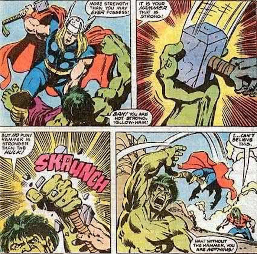 Thor Hulk Mjolnir