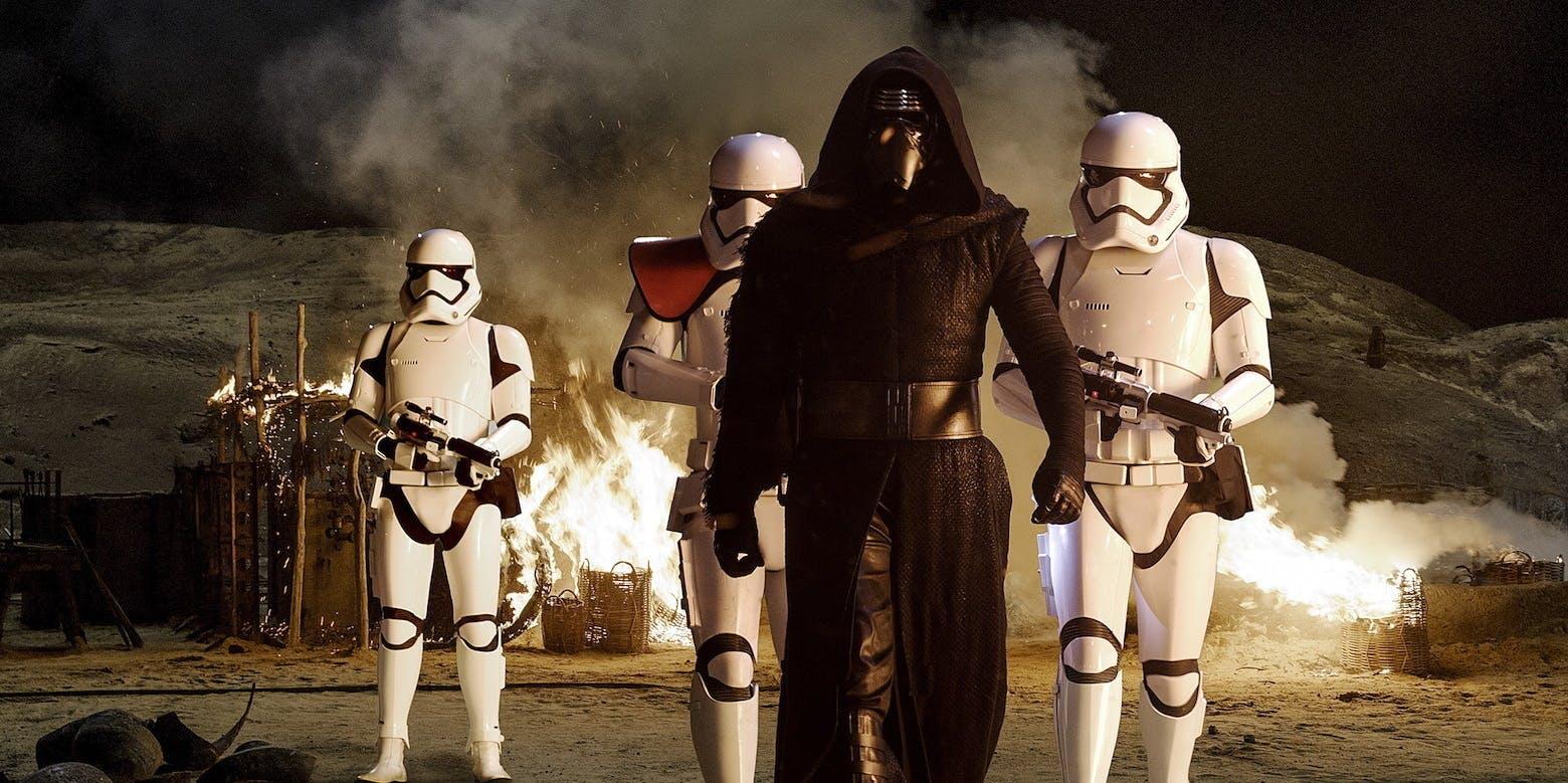 Kylo Ren in 'Star Wars: The Force Awakens'