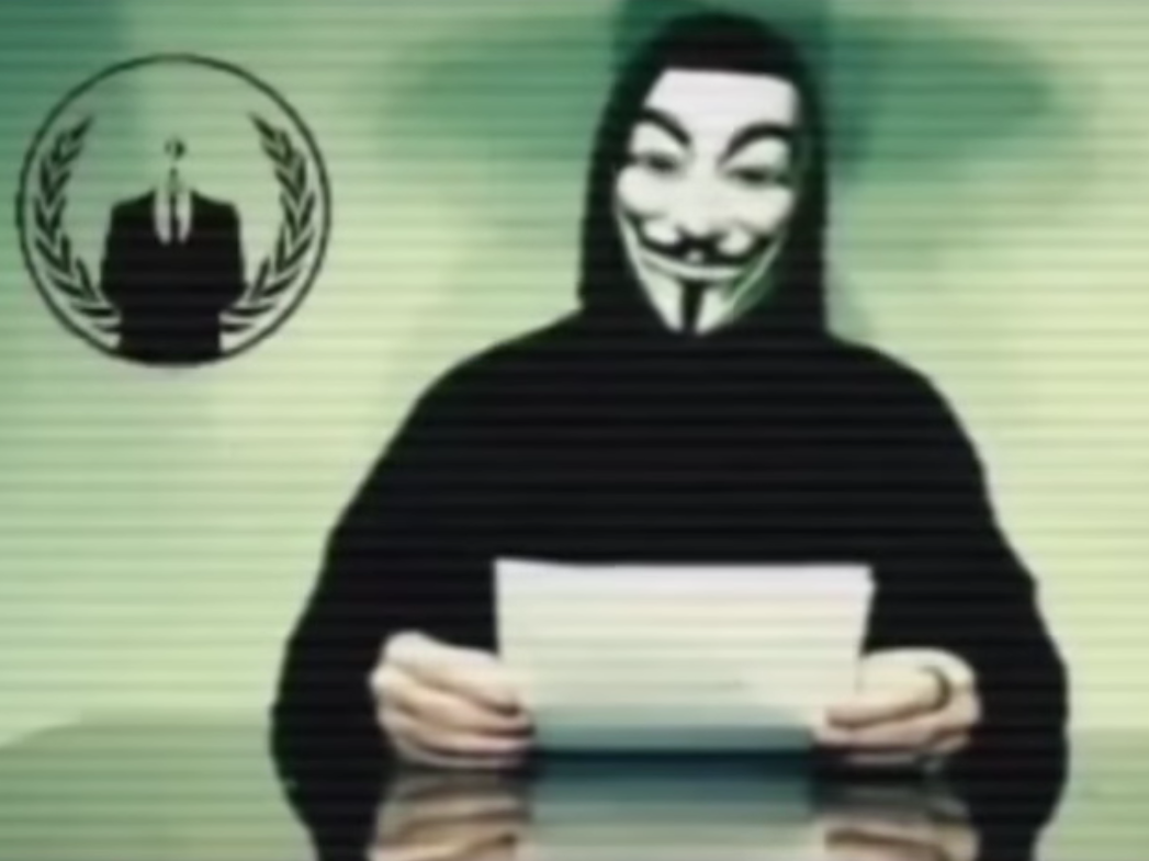 Anonymous Goes to War on Donald Trump for His Comments About Muslims