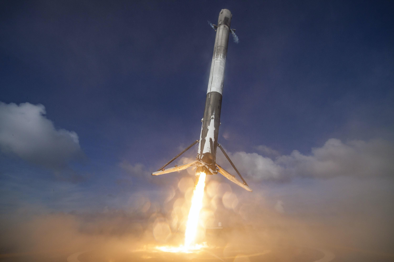 Falcon 9 First Landing West Coast 67