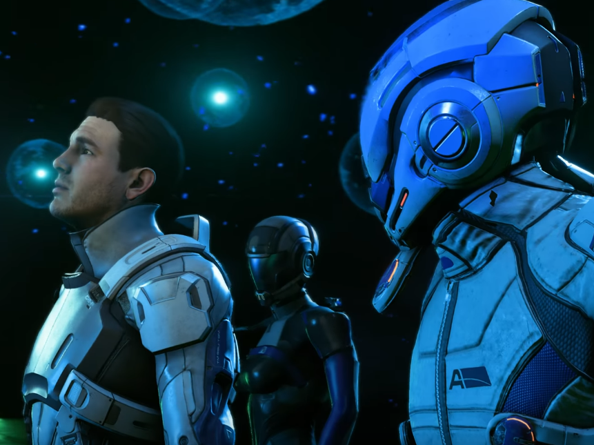 Here's 'Mass Effect: Andromeda' Running in 4K on the PS4 Pro