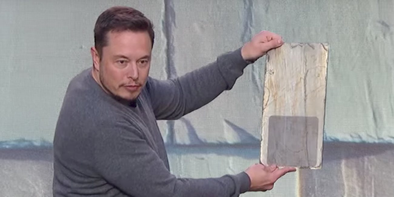 Elon Musk Says Tesla S Solar Roof Tiles Have Quot Infinity