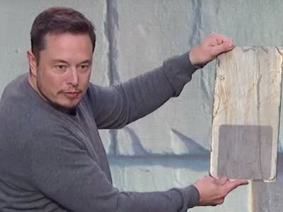 "Elon Musk Says Tesla's Solar Roof Tiles Have ""Infinity"" Warranty"