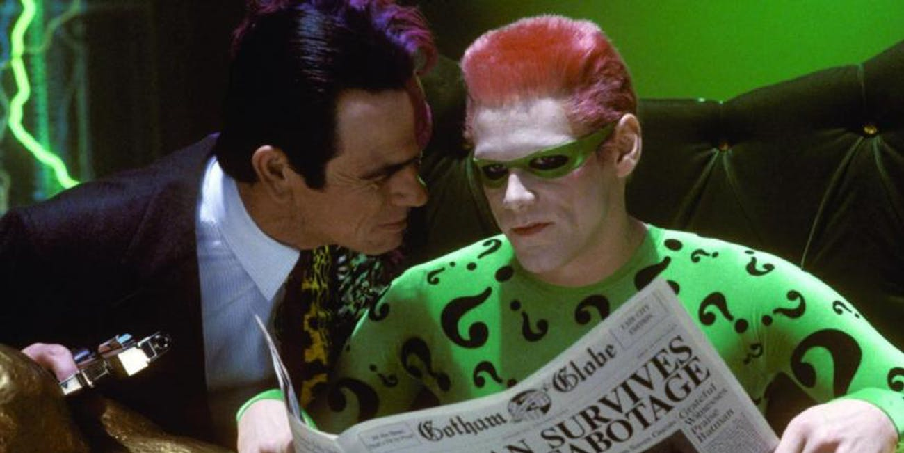 This is the only live-action Riddler I recognize.