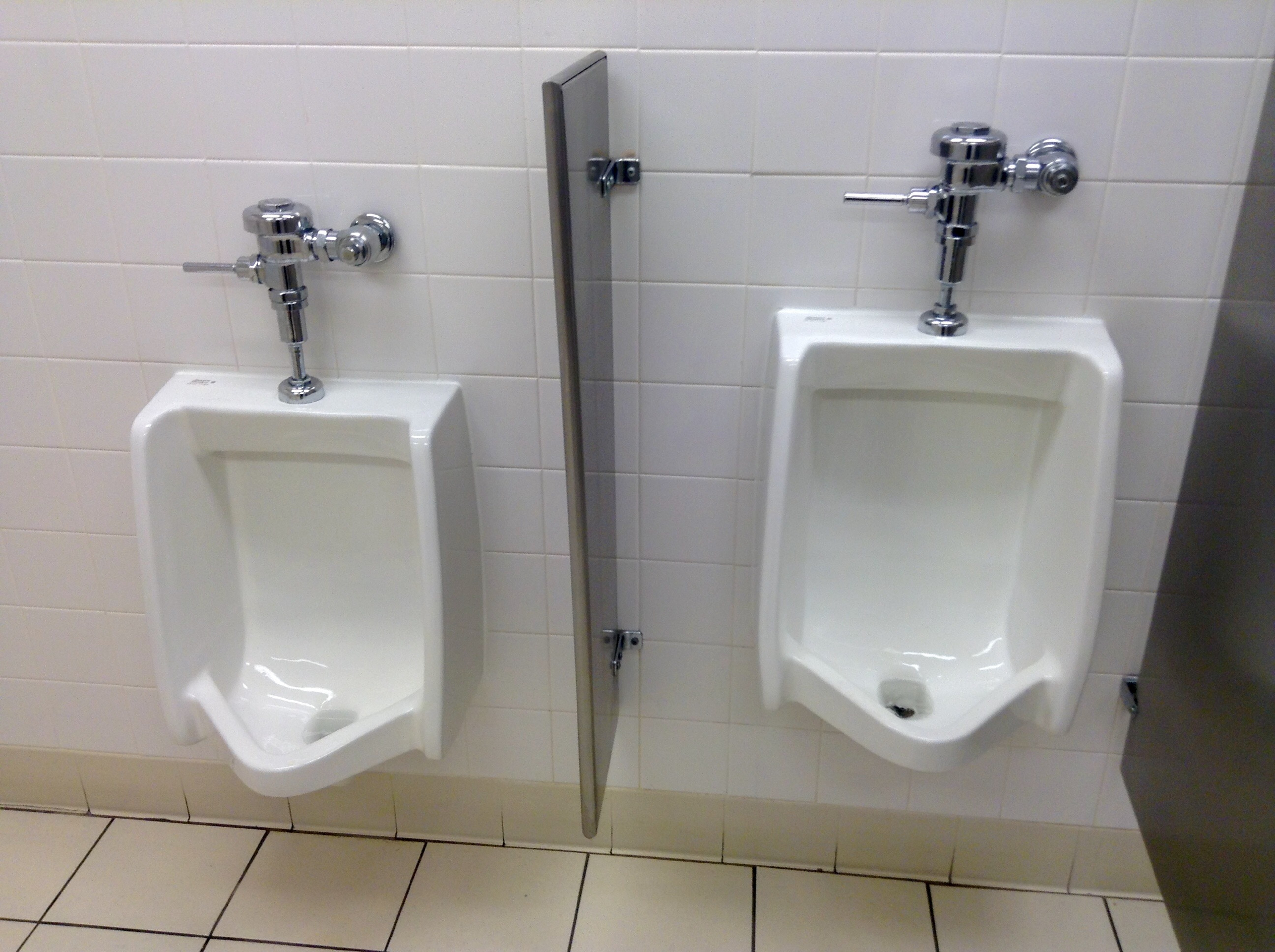 Urinals, 12/2014, by Mike Mozart of TheToyChannel and JeepersMedia on YouTube.