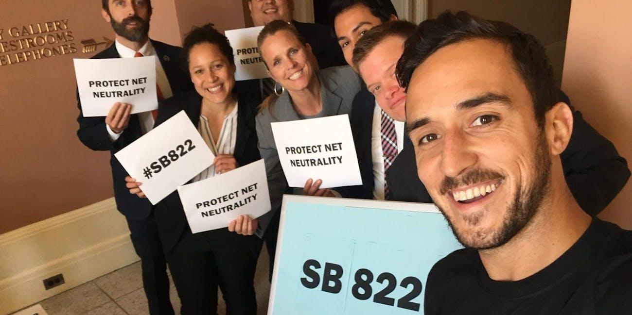 SB822 net neutrality
