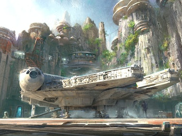 "Disney's ""Star Wars Land"" Will Open When New Trilogy Ends in 2019"