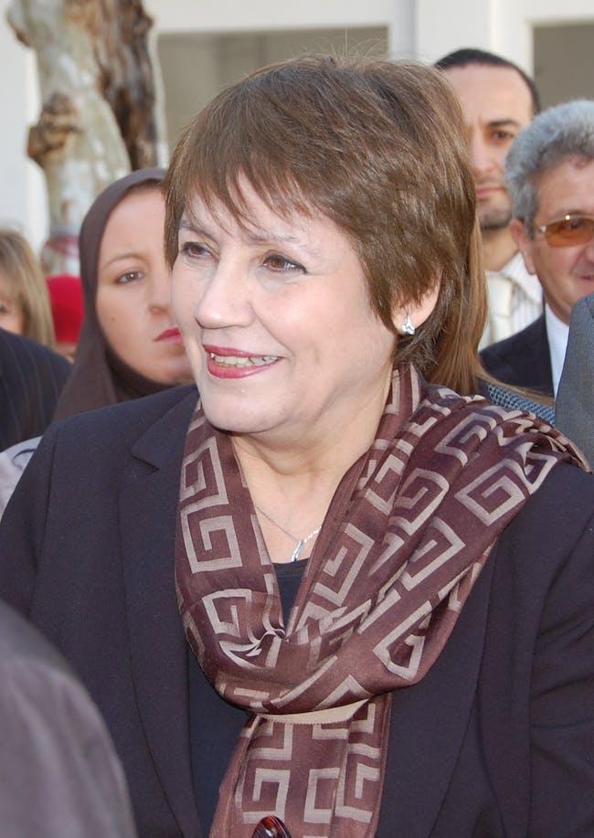 Nouria Benghabrit-Remaoun in Blida