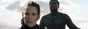 the Wasp and Black Panther