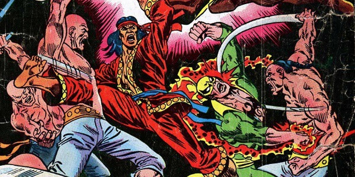 Shang-Chi early version in comics