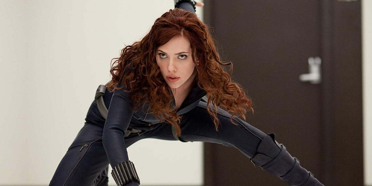 Iron Man Black Widow Scarlett Johansson