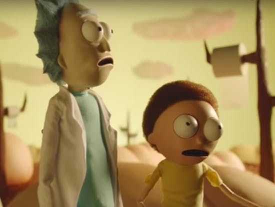 Adult Swim Shared a Buttload of Creepy 'Rick and Morty' Promos