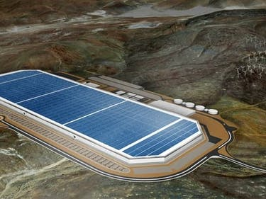 Take a Tour of Tesla's Massive Battery Gigafactory