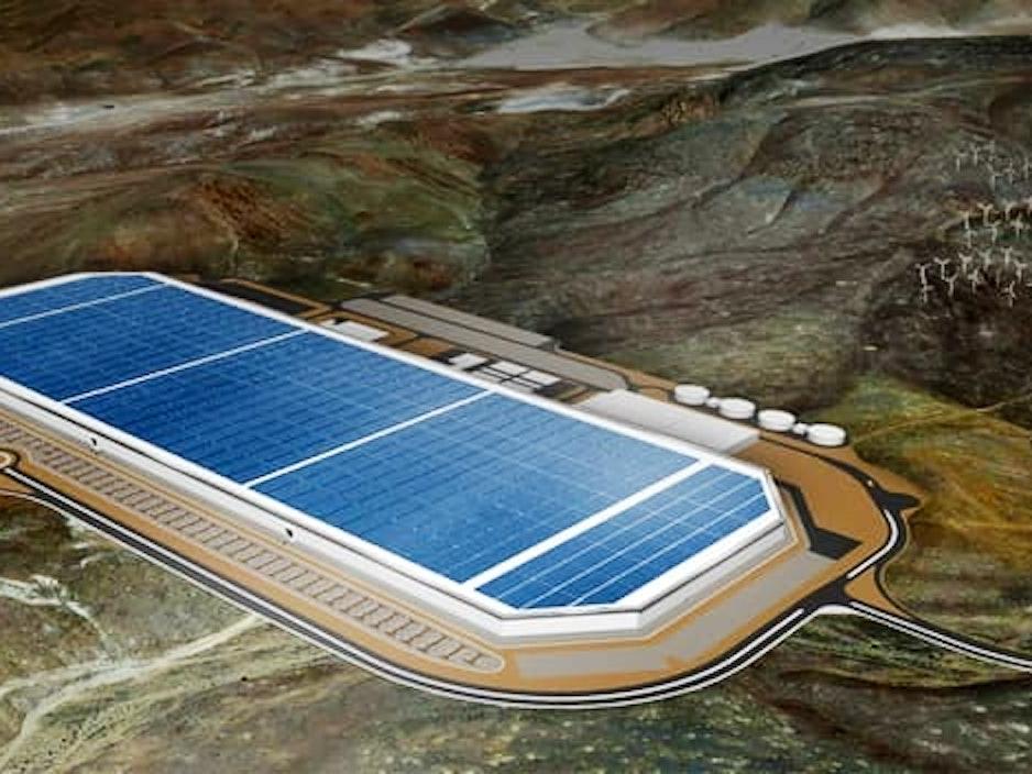 Take a Tour of Tesla's Gigafactory, Revealed to the Press Today