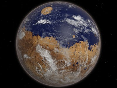 Mars Once Had Way More Oxygen in Its Atmosphere Than We Thought