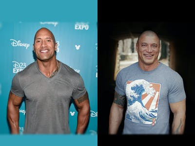 Meet the MMA Fighter Who Became The Rock's Stunt Double