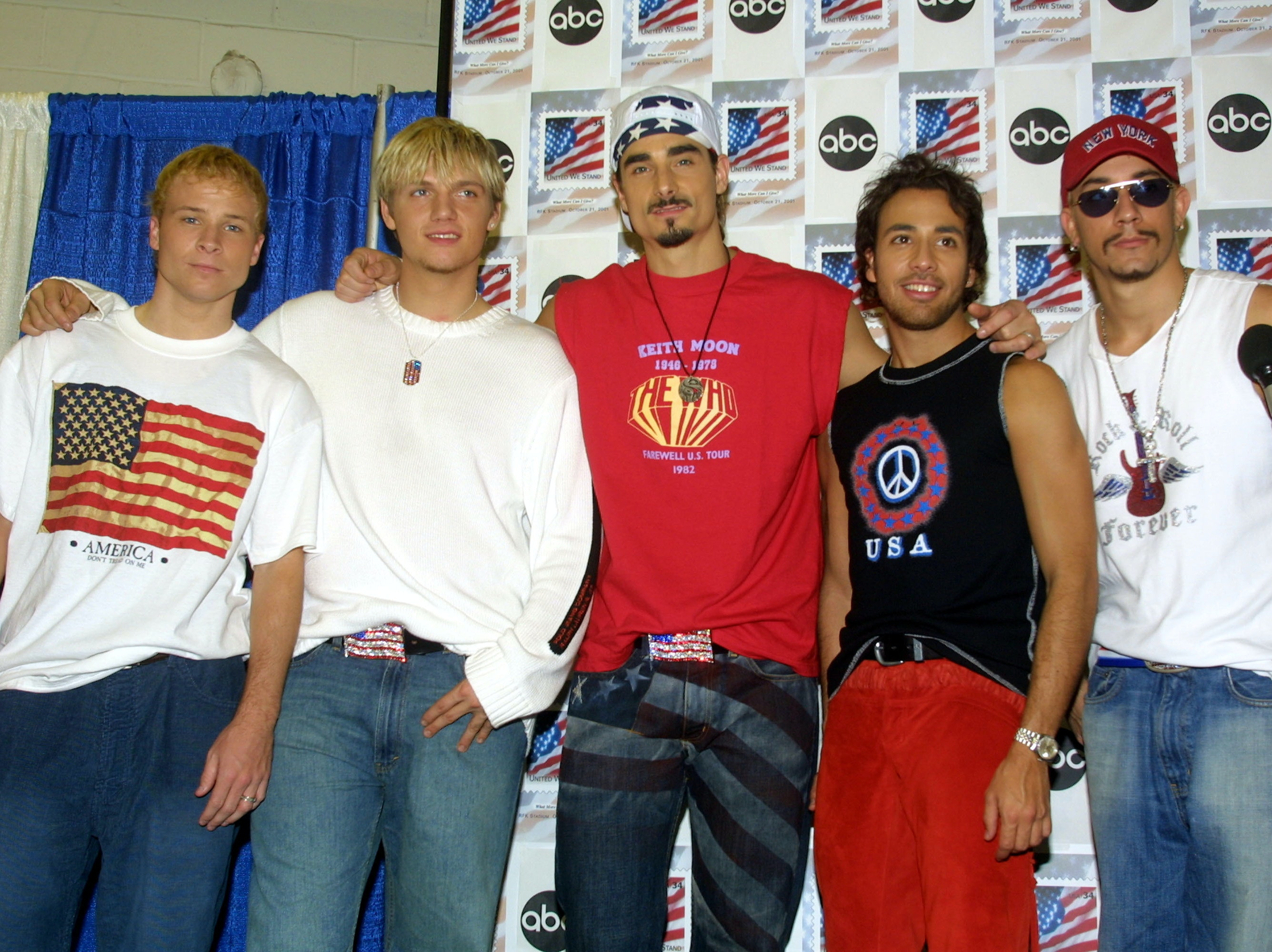 Trump Mimics The Backstreet Boys Because He Knows We Want It That Way