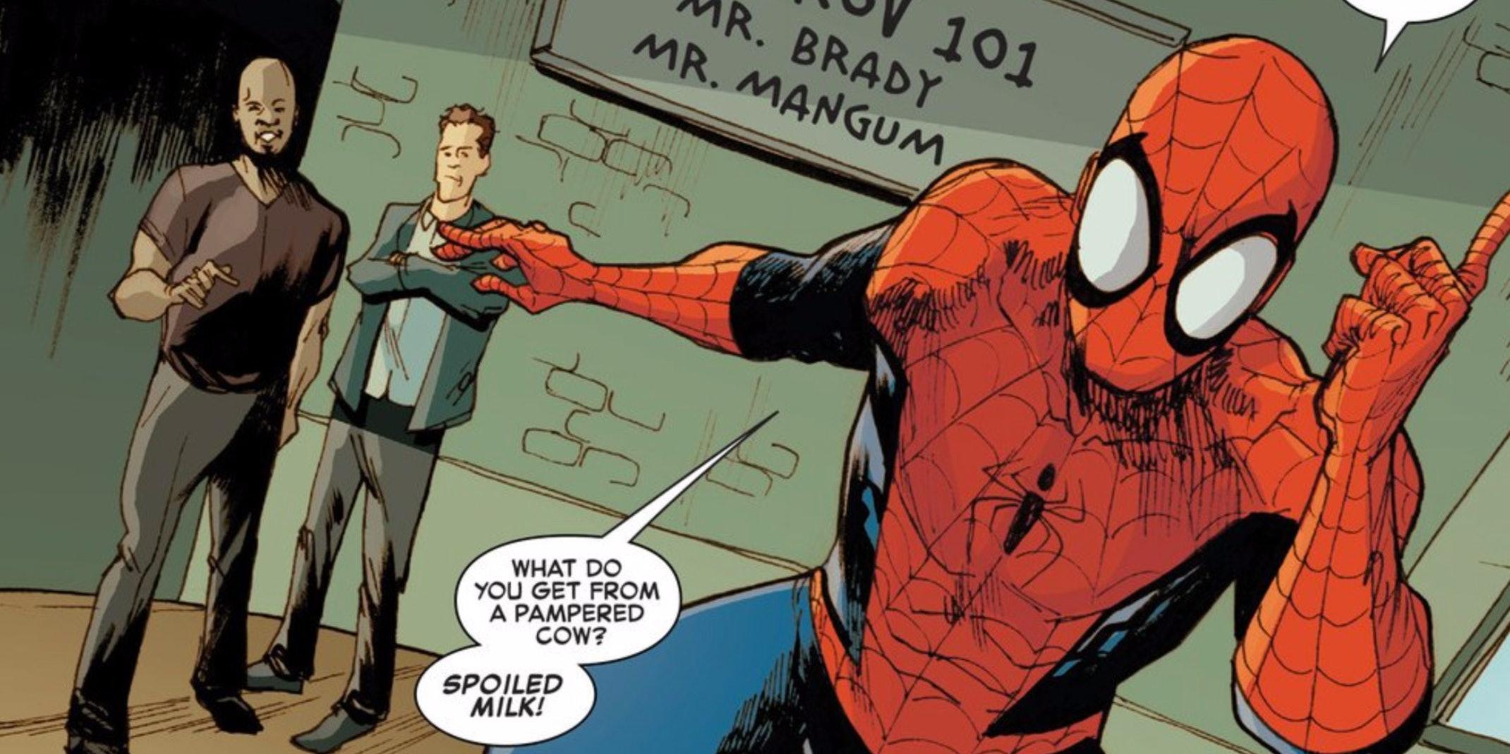 Spider-Man Takes an Improv Class...From Wayne Brady