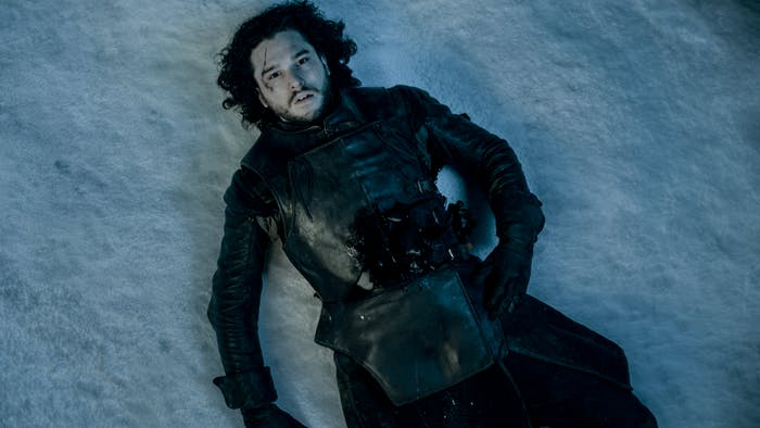 Dead Jon Snow -- 'Game of Thrones'