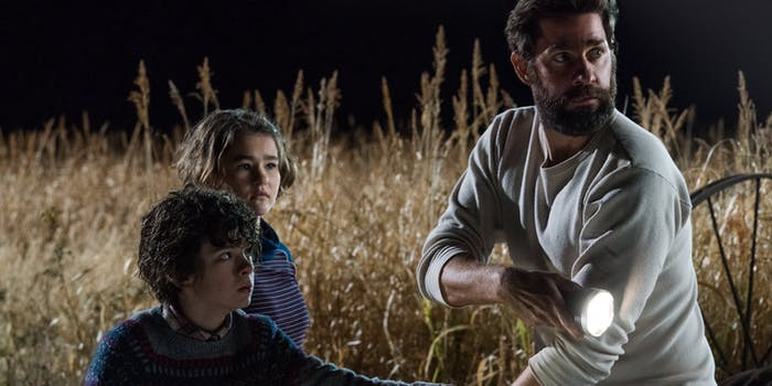 'A Quiet Place' is about family first and foremost.