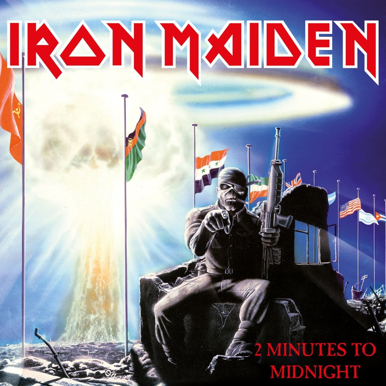 Iron Maiden 2 Minutes to Midnight cover