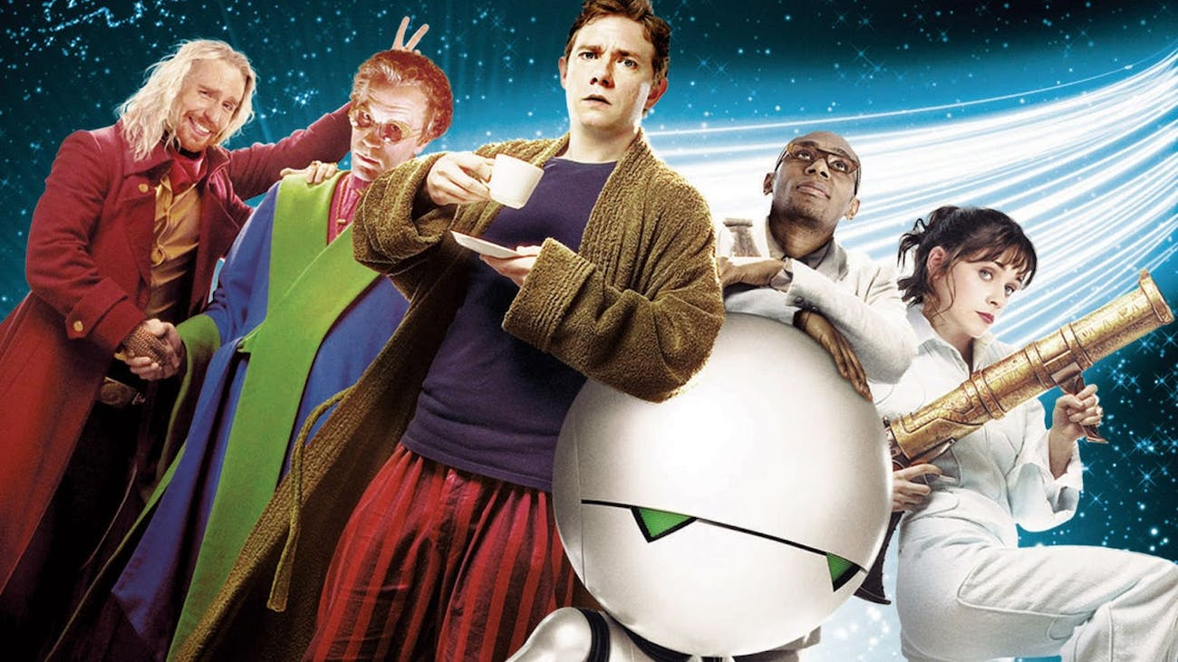 'The Hitchhiker's Guide to the Galaxy'
