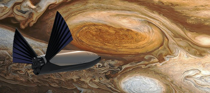 SpaceX concepts for the interplanetary transport spacecraft that will get us to Mars.