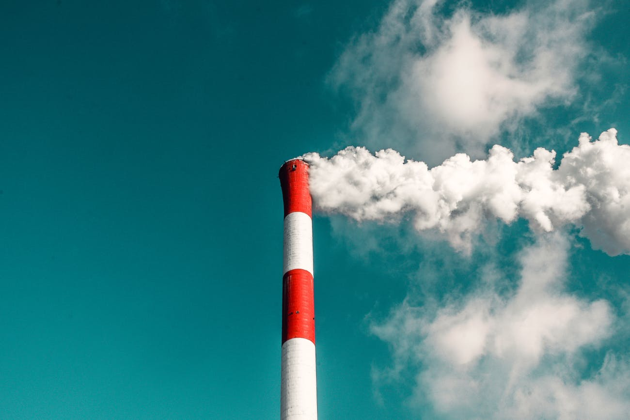Carbon emissions need to be cut back.