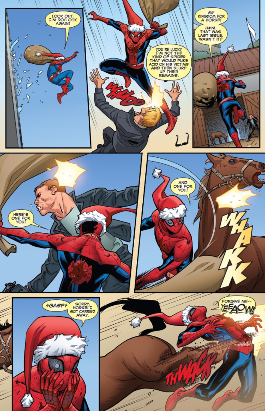 Panel from Marvel's Deadpool #22