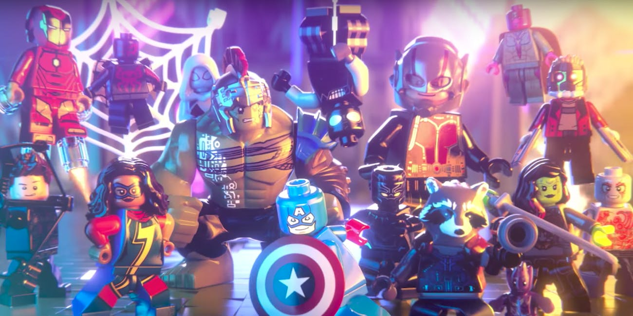 Lego Marvel Super Heroes Avengers