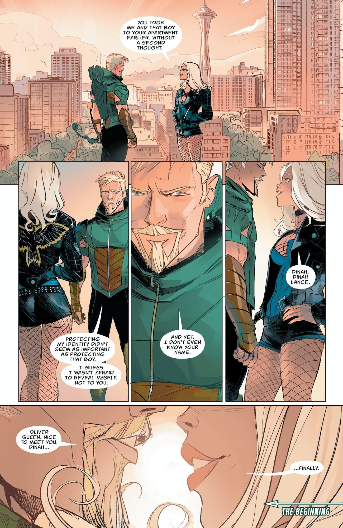 Green Arrow Black Canary Rebirth