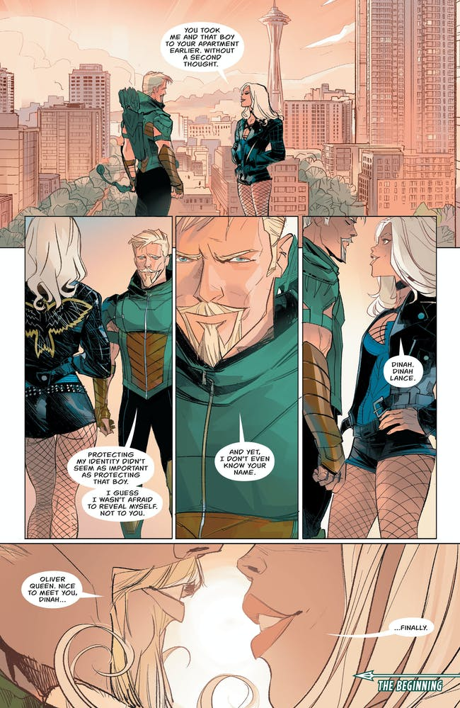 Green Arrow Black Canary Rebirth