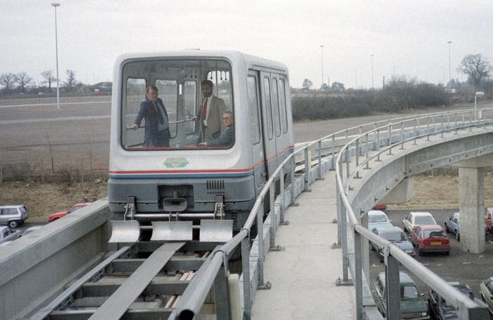 The Birmingham maglev.