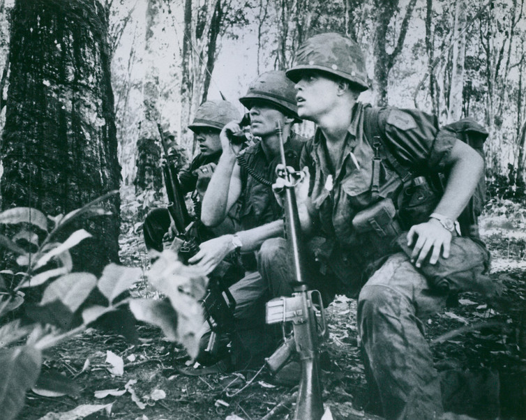 As veterans returned home from the war in Vietnam, combat trauma became less stigmatized.