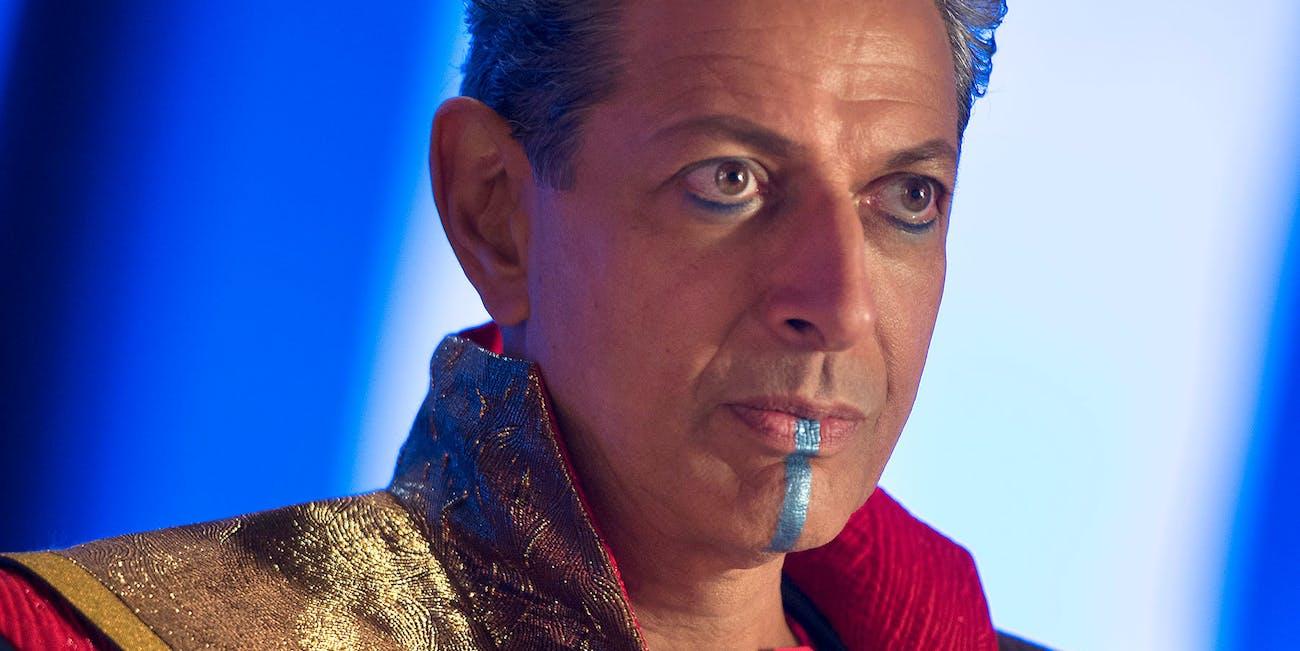 Marvel Jeff Goldblum Guardians of the Galaxy