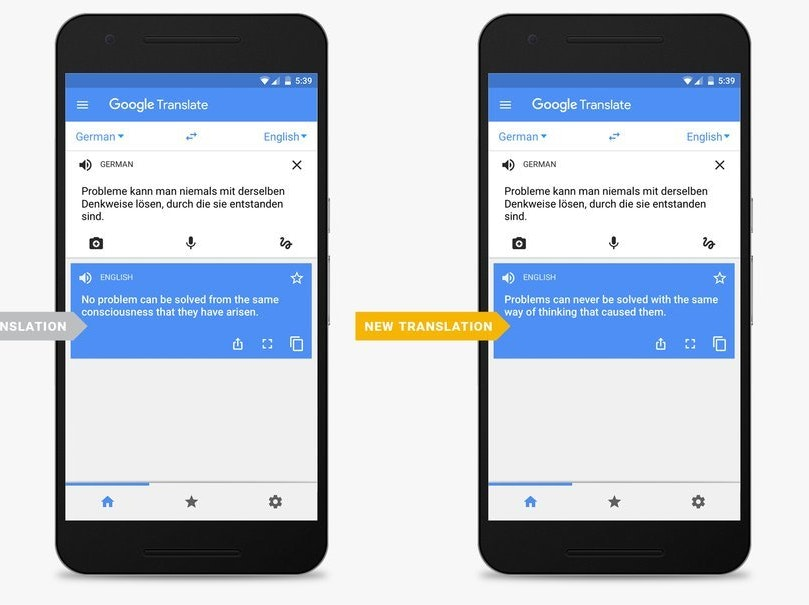 The New Google Translate App Can Read Whole Sentences
