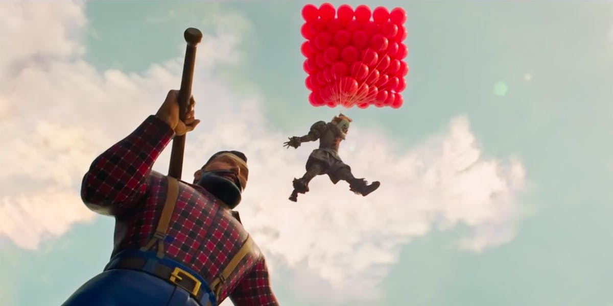 Fortnite's Leaked 'It: Chapter 2' Crossover Looks Scarier ...
