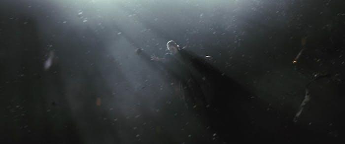 Leia in space in 'The Last Jedi'